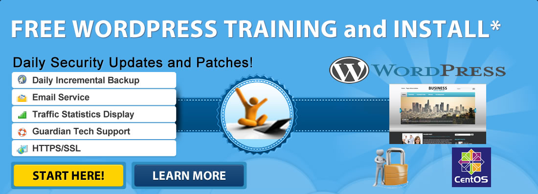 Free Wordpress Installation and Training