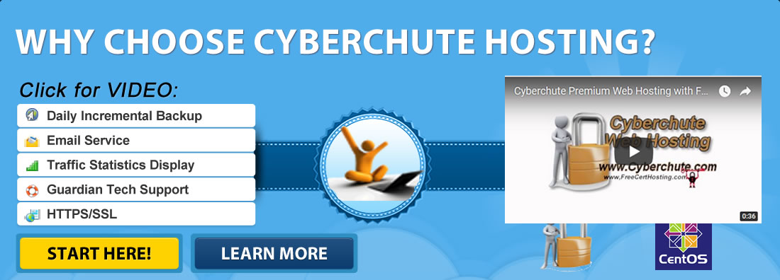 Why You Should Choose Cyberchute Hosting